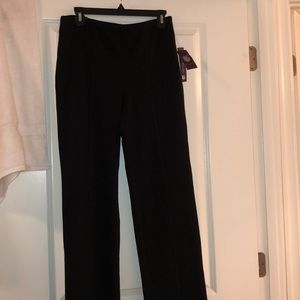 Black elastic pants by Georgia Vanderbilt NWT